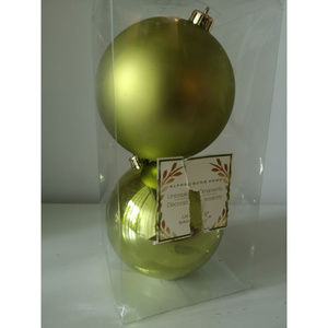 Other - Bundle of 4 Sphere Christmas Tree Ornaments